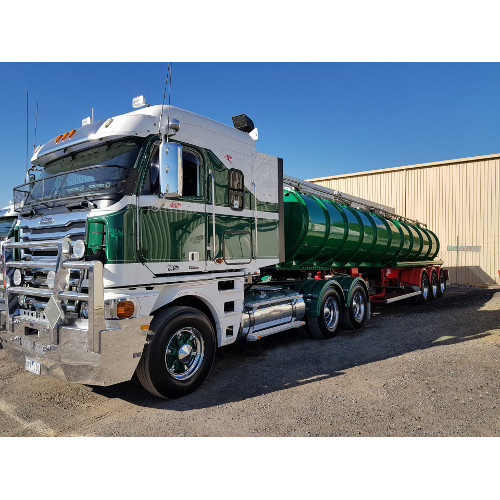 Tanker - Up to 27000 Litres